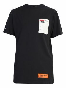 HERON PRESTON Patched T-shirt