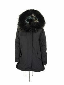 Mr & Mrs Italy Parka Black