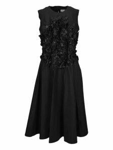 Moncler Noir Moncler Noir Flower Applications Dress