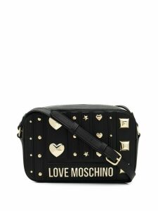 Love Moschino studded cross body bag - Black