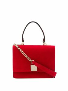 Casadei logo-plaque shoulder bag - Red
