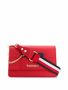 Tommy Hilfiger logo cross-body bag - Red