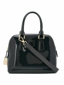 Furla Candy Fantastica gloss tote bag - Black