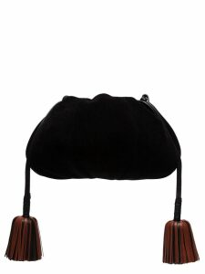 Ulla Johnson Brea tasselled pouch bag - Black