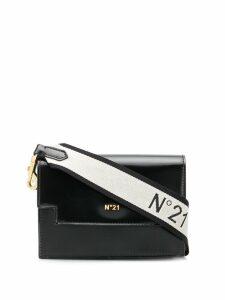 Nº21 logo strap cross body bag - Black
