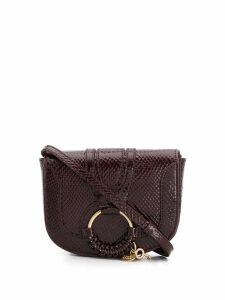 See By Chloé snakeskin effect mini bag - Red
