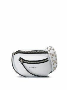 Iceberg stud detail belt bag - White