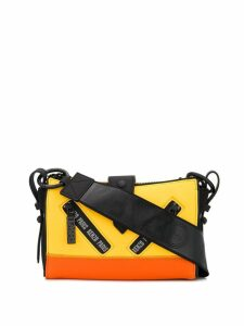 Kenzo contrast block colour shoulder bag - Yellow