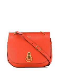Mulberry Amberley small grain satchel bag - Orange