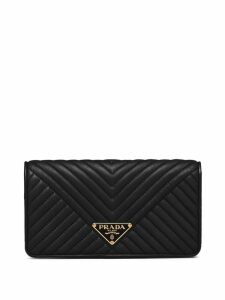 Prada quilted mini bag - Black