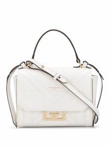 Givenchy double GG cross-body bag - White