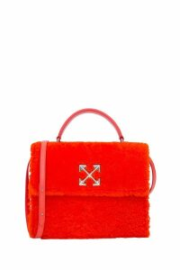 Off-White 2.8 Jitney Furry Bag