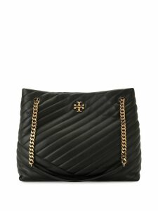 Tory Burch Kira quilted tote bag - Black