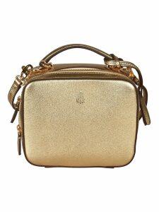 Mark Cross Double Zip Shoulder Bag