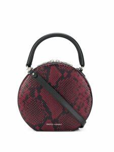 Rebecca Minkoff Neomi snakeskin print crossbody bag - Red