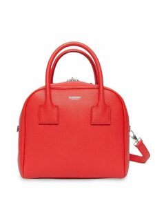 Burberry Small Leather Cube Bag - Red