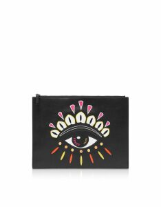 Kenzo Kenzo Paris Eye Clutch