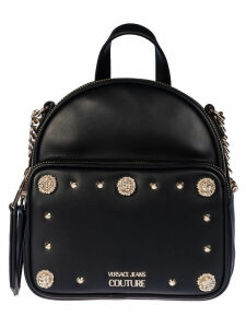 Versace Jeans Couture Logo Plaque Backpack