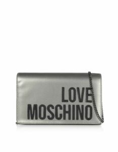 Love Moschino Love Moschino Signature Laminated Clutch