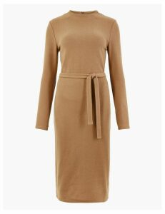M&S Collection Belted Shift Midi Dress