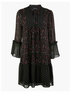 M&S Collection Floral Relaxed Mini Dress