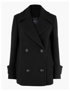 M&S Collection Short Pea Coat