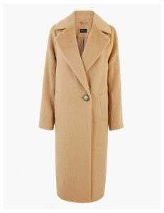 M&S Collection Cocoon Overcoat