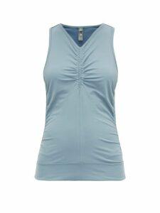 Adidas By Stella Mccartney - Comfort Racerback Tank Top - Womens - Blue