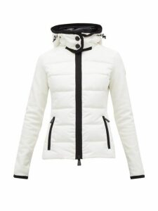 Moncler Grenoble - Down Filled Panelled Ski Jacket - Womens - White