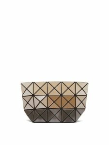Bao Bao Issey Miyake - Prism Tri Colour Pouch - Womens - Beige Multi