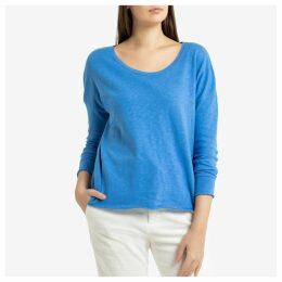 Sonoma Cotton Boat-Neck T-Shirt