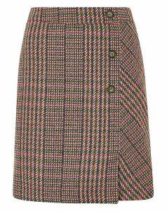 Monsoon Patsy Fabric Check Skirt