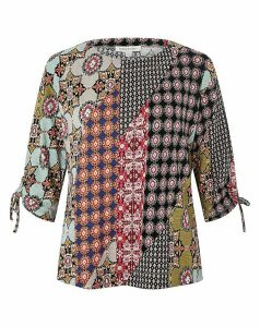 Monsoon Pacey Print Patch Top