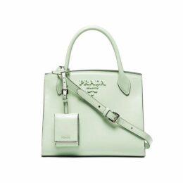 Prada Green Leather Satchel