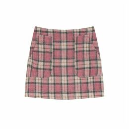 Jigsaw Tartan Pocket Mini Skirt