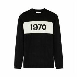 BELLA FREUD Black Wool Top