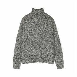 THE ROW Pheliana Grey Cashmere Jumper