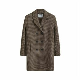 Jigsaw Double Face Tweed Short Coat