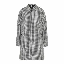 M.C. OVERALLS Gingham Quilted Shell Coat