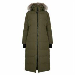 Canada Goose Mystique Fur-trimmed Shell Coat