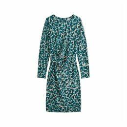 Jigsaw Cascading Petals Jersey Dress