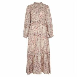Isabel Marant Étoile Likoya Floral-print Cotton Midi Dress