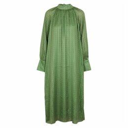 Birgitte Herskind Sussi Printed Satin Midi Dress