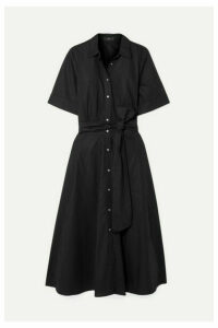 J.Crew - Redbury Cotton-poplin Midi Dress - Black