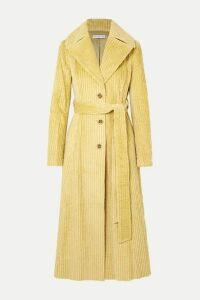 REJINA PYO - Rhea Cotton-corduroy Trench Coat - Light green