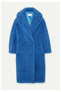 Max Mara - Teddy Bear Alpaca-blend Coat - Bright blue