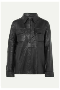 Stand Studios - Leather Shirt - Black