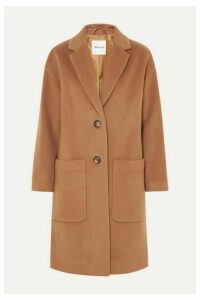 Madewell - Monsieur Wool-blend Felt Coat - Camel