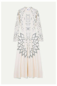 GmbH - Elif Printed Tech-jersey Maxi Dress - Beige