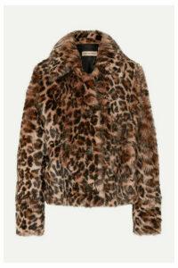 Yves Salomon - Leopard-print Shearling Coat - Leopard print